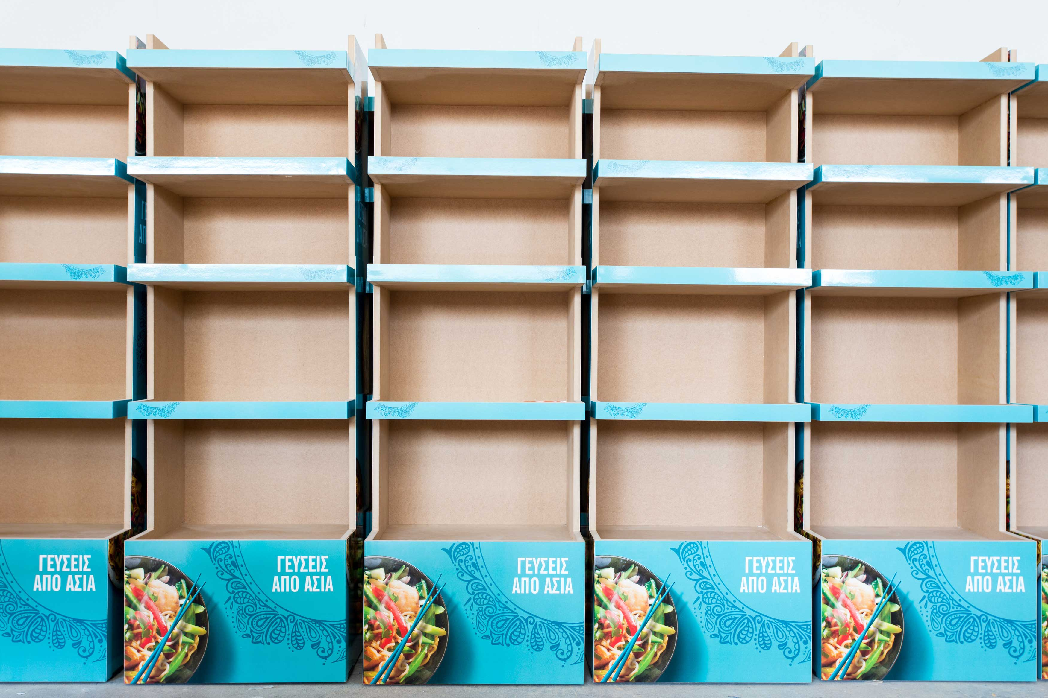 Unilever Ξύλινο Σταντ 3