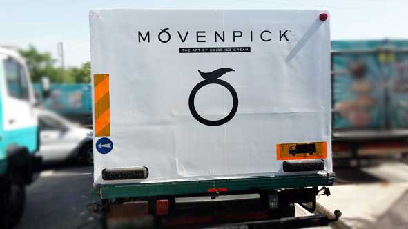 Mövenpick φορτηγά ψυγεία